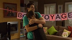 Chris Pappas, Sophie Ramsay in Neighbours Episode 6610