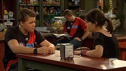Callum Rebecchi, Toadie Rebecchi, Sophie Ramsay in Neighbours Episode 6610