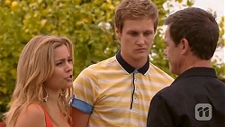 Natasha Williams, Andrew Robinson, Paul Robinson in Neighbours Episode 6610