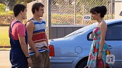 Chris Pappas, Kyle Canning, Vanessa Villante in Neighbours Episode 6611