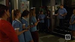 Susan Kennedy, Bailey Turner, Rani Kapoor, Callum Rebecchi in Neighbours Episode 6611