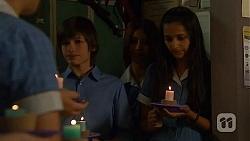 Bailey Turner, Rani Kapoor in Neighbours Episode 6611