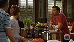 Karl Kennedy, Susan Kennedy, Ajay Kapoor in Neighbours Episode 6611