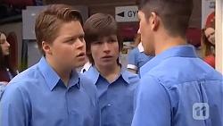 Callum Jones, Bailey Turner, Alister O'Loughlin in Neighbours Episode 6612
