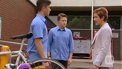 Alister O'Loughlin, Callum Jones, Susan Kennedy in Neighbours Episode 6612