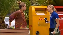 Sonya Rebecchi, Georgia Brooks in Neighbours Episode 6612