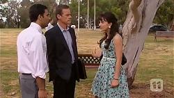 Ajay Kapoor, Paul Robinson, Vanessa Villante in Neighbours Episode 6612