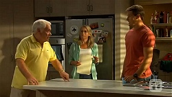 Lou Carpenter, Lauren Turner, Matt Turner in Neighbours Episode 6614