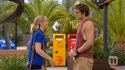Georgia Brooks, Kyle Canning in Neighbours Episode 6614