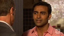 Paul Robinson, Ajay Kapoor in Neighbours Episode 6614