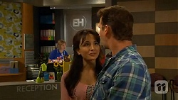 Vanessa Villante, Lucas Fitzgerald in Neighbours Episode 6615