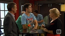 Paul Robinson, Chris Pappas, Sheila Canning in Neighbours Episode 6615