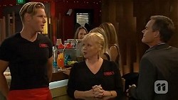 Pete Clark, Sheila Canning, Paul Robinson in Neighbours Episode 6615