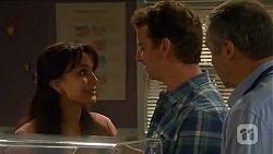 Vanessa Villante, Lucas Fitzgerald, Karl Kennedy in Neighbours Episode 6615