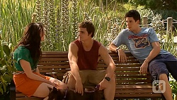 Kate Ramsay, Kyle Canning, Chris Pappas in Neighbours Episode 6616