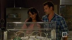Patrick Villante, Vanessa Villante, Lucas Fitzgerald in Neighbours Episode 6616