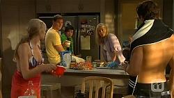 Amber Turner, Matt Turner, Bailey Turner, Lauren Turner, Mason Turner in Neighbours Episode 6618