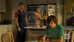Chris Pappas, Amber Turner, Bailey Turner in Neighbours Episode 6618