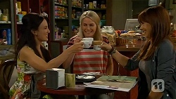 Vanessa Villante, Lauren Turner, Steph Scully in Neighbours Episode 6622