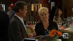 Paul Robinson, Sheila Canning in Neighbours Episode 6623