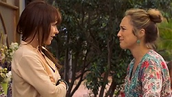 Steph Scully, Sonya Rebecchi in Neighbours Episode 6624