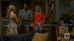 Amber Turner, Matt Turner, Lauren Turner, Bailey Turner in Neighbours Episode 6626