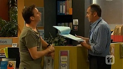 Lucas Fitzgerald, Karl Kennedy in Neighbours Episode 6627
