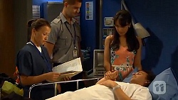 Dr Alice Dollard, Vanessa Villante, Lucas Fitzgerald in Neighbours Episode 6627