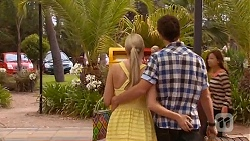Amber Turner, Chris Pappas in Neighbours Episode 6628