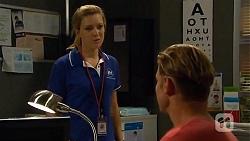 Georgia Brooks, Pete Clark in Neighbours Episode 6628