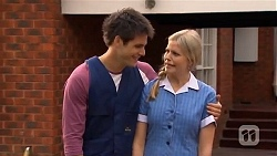Chris Pappas, Amber Turner in Neighbours Episode 6629