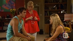Kyle Canning, Sheila Canning, Georgia Brooks in Neighbours Episode 6629