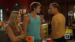 Amber Turner, Kyle Canning, Pete Clark in Neighbours Episode 6629