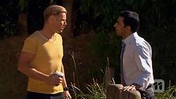 Pete Clark, Ajay Kapoor in Neighbours Episode 6629