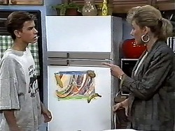 Todd Landers, Beverly Marshall in Neighbours Episode 1185