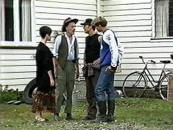 Kerry Bishop, Lester Cooper, Matt Robinson, Ryan McLachlan in Neighbours Episode 1185