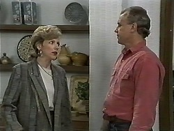 Beverly Marshall, Jim Robinson in Neighbours Episode 1186