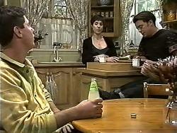 Joe Mangel, Kerry Bishop, Matt Robinson in Neighbours Episode 1186