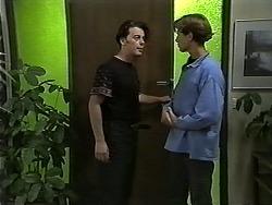 Matt Robinson, Ryan McLachlan in Neighbours Episode 1186