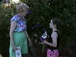 Madge Bishop, Lochy McLachlan in Neighbours Episode 1188