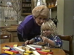 Madge Bishop, Sky Mangel in Neighbours Episode 1189