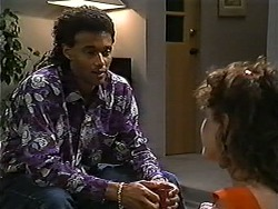 Eddie Buckingham, Christina Alessi in Neighbours Episode 1189