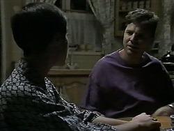 Kerry Bishop, Joe Mangel in Neighbours Episode 1190