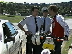 Police Officer, Ryan McLachlan in Neighbours Episode 1190