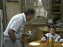 Harold Bishop, Toby Mangel in Neighbours Episode 1190