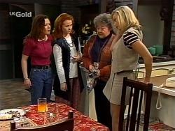 Cody Willis, Ren Gottlieb, Marlene Kratz, Annalise Hartman in Neighbours Episode 2273