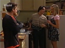 Mark Gottlieb, Rick Alessi, Annalise Hartman in Neighbours Episode 2274