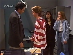 Karl Kennedy, Brett Stark, Susan Kennedy, Libby Kennedy in Neighbours Episode 2274