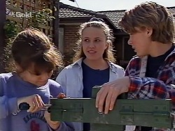 Hannah Martin, Libby Kennedy, Billy Kennedy in Neighbours Episode 2275