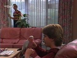 Danni Stark, Dahl, Brett Stark in Neighbours Episode 2275